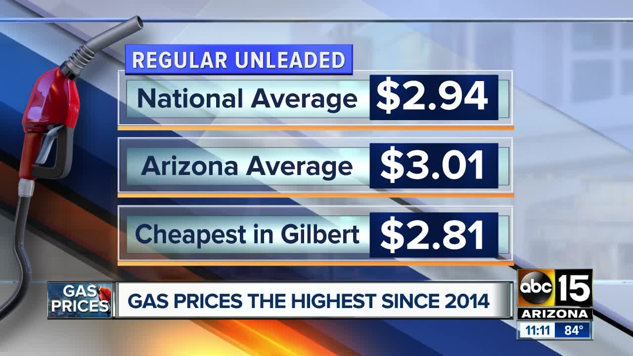 Gas Prices In Arizona >> 5 Ways To Save Money On Fuel As Gas Prices Rise In Arizona