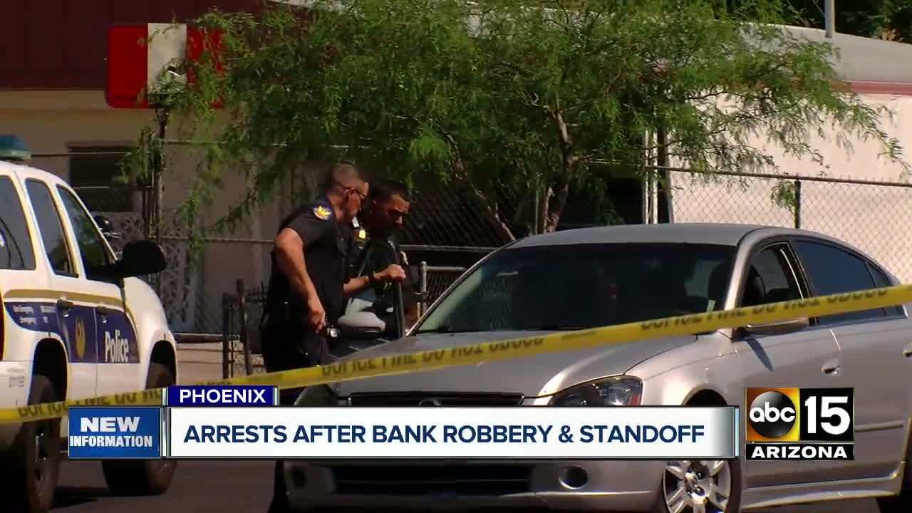 Bank Robbery Suspects Wore Officer's Body Armor During