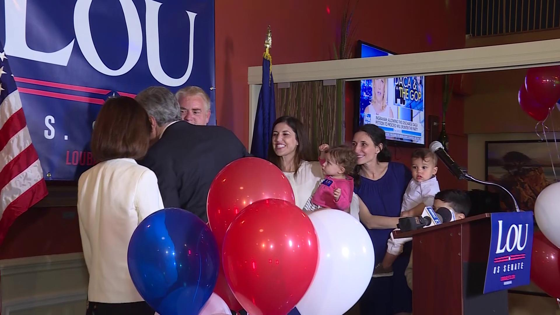 WEB EXTRA: Barletta delivers victory speech after winning Republican primary